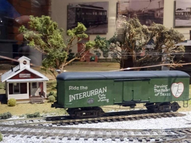 Interurban Railway Museum, downtown Plano