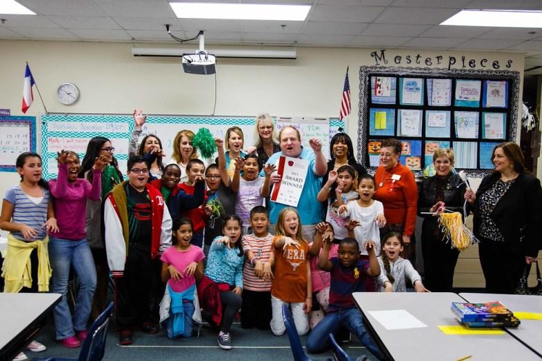 Matthew Clark Barron Elementary Plano ISD Education Foundation
