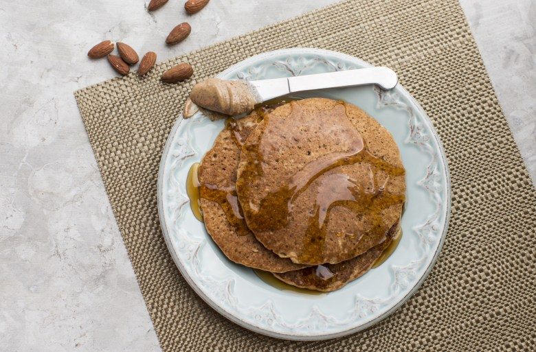 Almond Butter Maple Pancakes Snap Kitchen