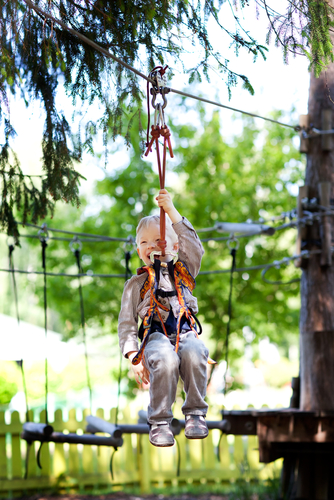 Go Ape Oak Point Park Plano Zipline