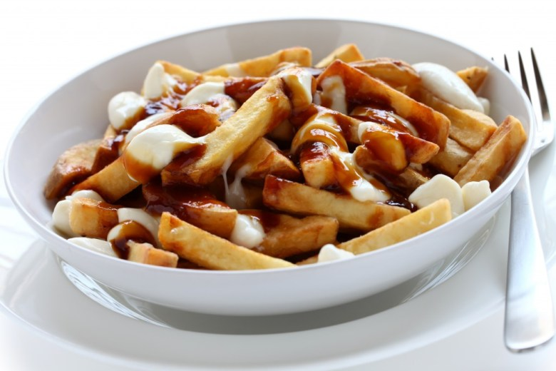 poutine fries curds