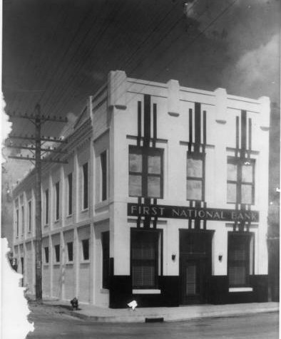 First National Bank (what is the A.R. Schell Building today)