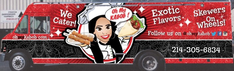 kabob rendering food truck
