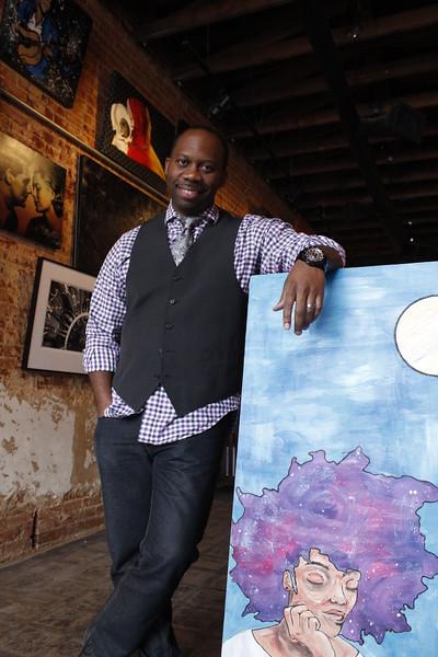 Ken Wesley, art, Downtown Plano