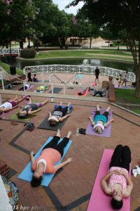 Yoga Tree Plano, Haggard Park Downtown Plano