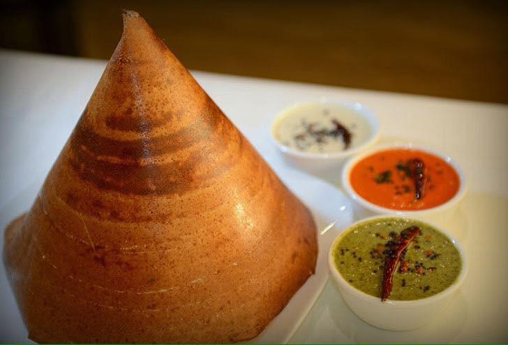 Malgudi Garden, Indian food, Plano, Tamilnadu, Dosai