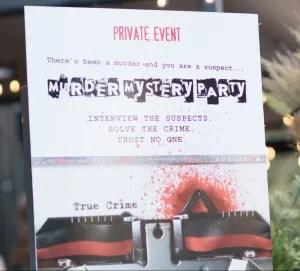 Murder Mystery Party, Plano Profile, Legacy West, Bulla Gastrobar