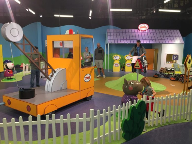 Grandad Dog's Garage at Peppa Pig World of Play, Grapevine Mills