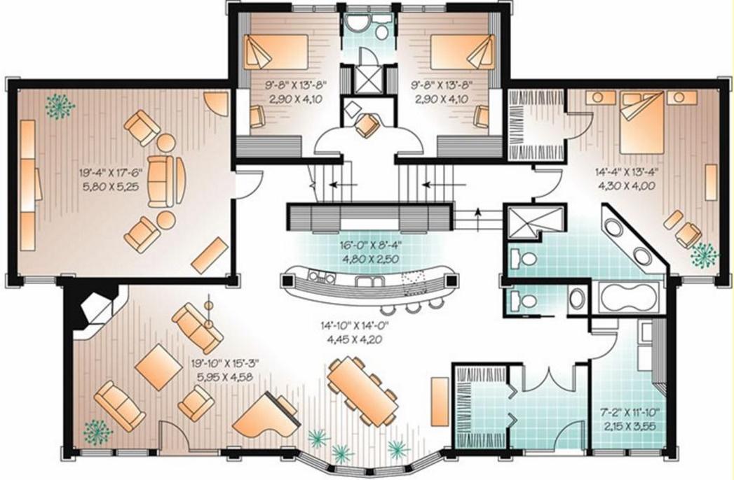 Resultado de imagen para planos viviendas