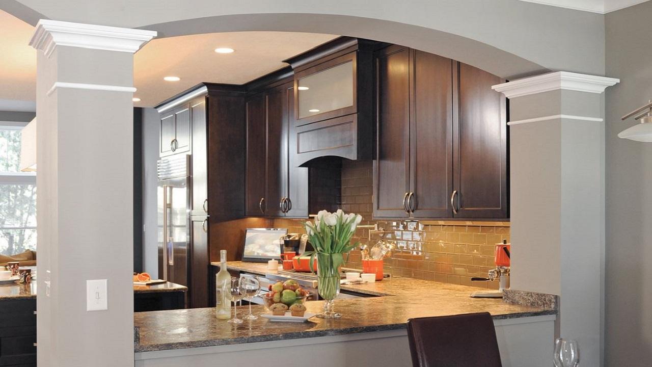 38cb7fed884e Cocinas Integrales Con Barra Para Casas Pequeas - Createspaces.top