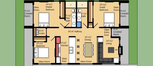 planos de casas 3 dormitorios18
