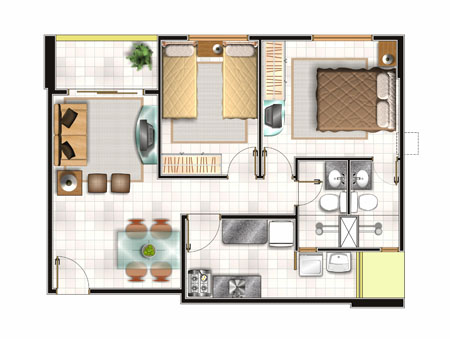 20 planos de casas chicas planos y fachadas todo para for Crea el plano de tu casa