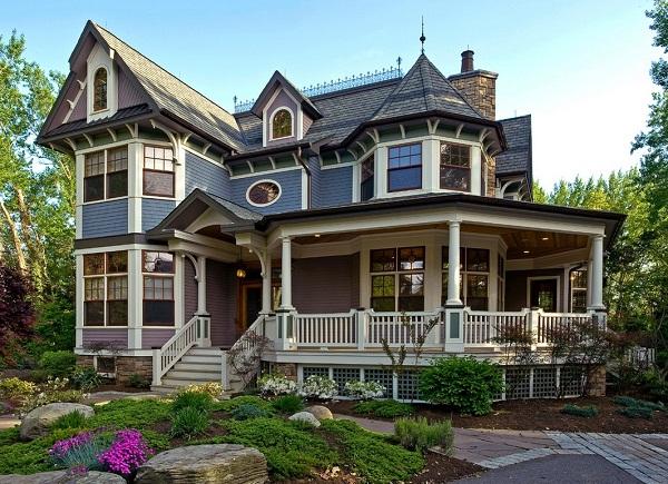 10 fachadas de bellas casas coloniales planos y fachadas for Casa coloniale americana