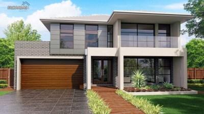 fachadas de casas modernas de un piso16