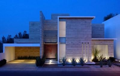 fachadas de casas modernas de un piso2