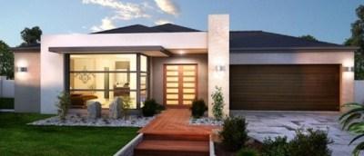 fachadas de casas modernas de un piso20