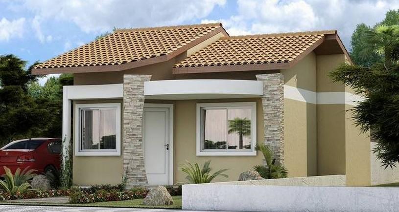 Fachadas de casas modernas de un piso planos y fachadas for Los mejores techos de casas
