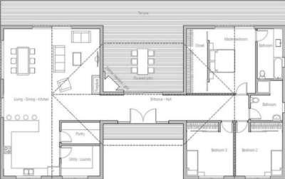 planos-de-casas-de-un-piso-3-dormitorios-33
