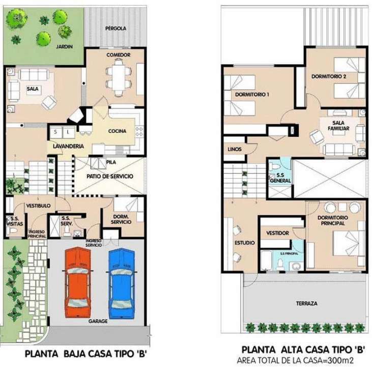 Planos de casas minimalistas una planta dos plantas for Casas minimalistas planos