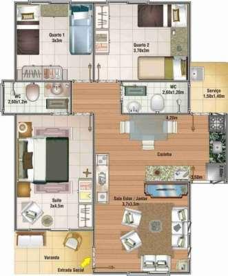 planos-de-casas-pequenas-de-un-piso-38