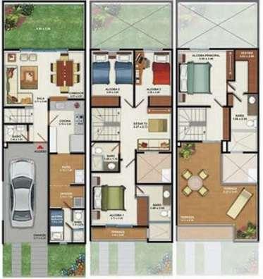 planos-de-casas-pequenas-de-un-piso-60