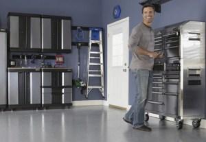 Cleaning, Painting Garage Floors