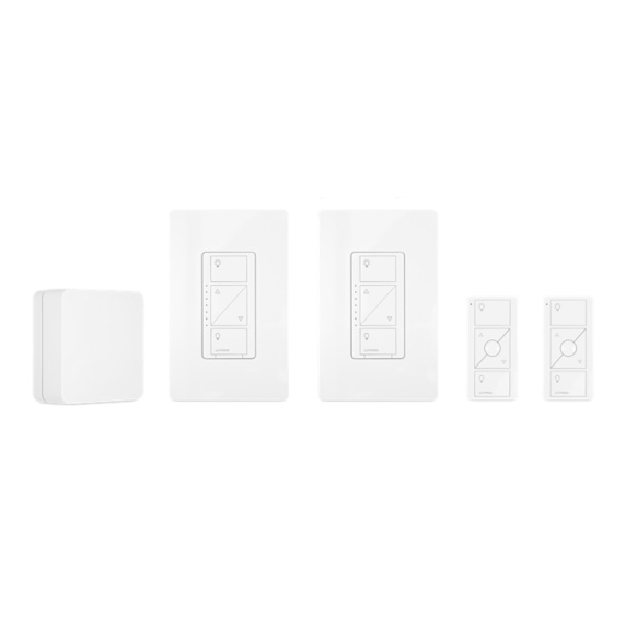 Lutron Caséta Wireless Smart Lighting In-Wall Dimmer Kit (HomeKit-enabled) Image