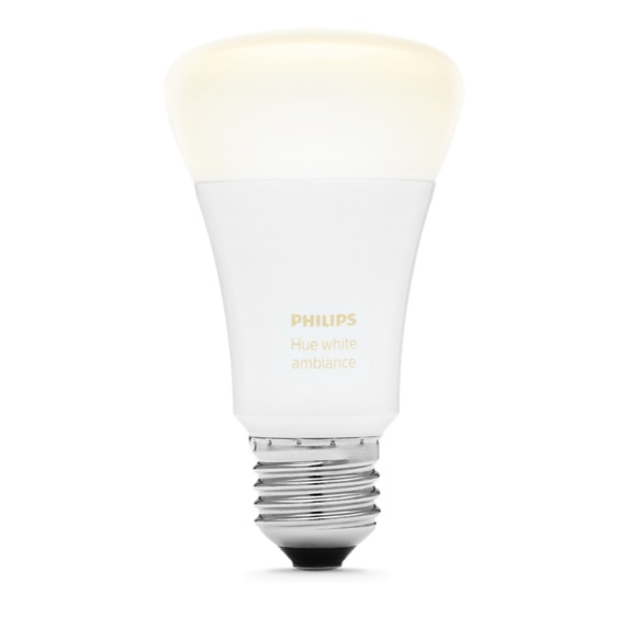 Philips Hue White Ambiance A19 Bulb Image