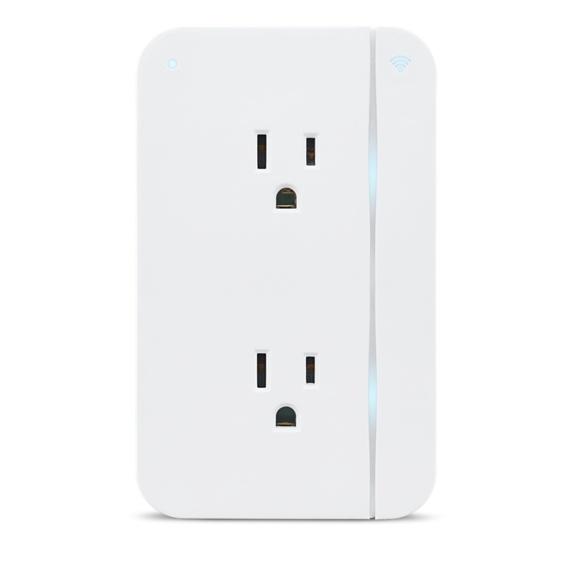 ConnectSense Smart Outlet - Wi-Fi Dual Smart Plug Image