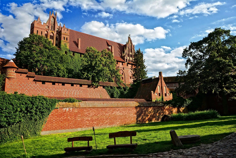plan poland castles in poland malbork