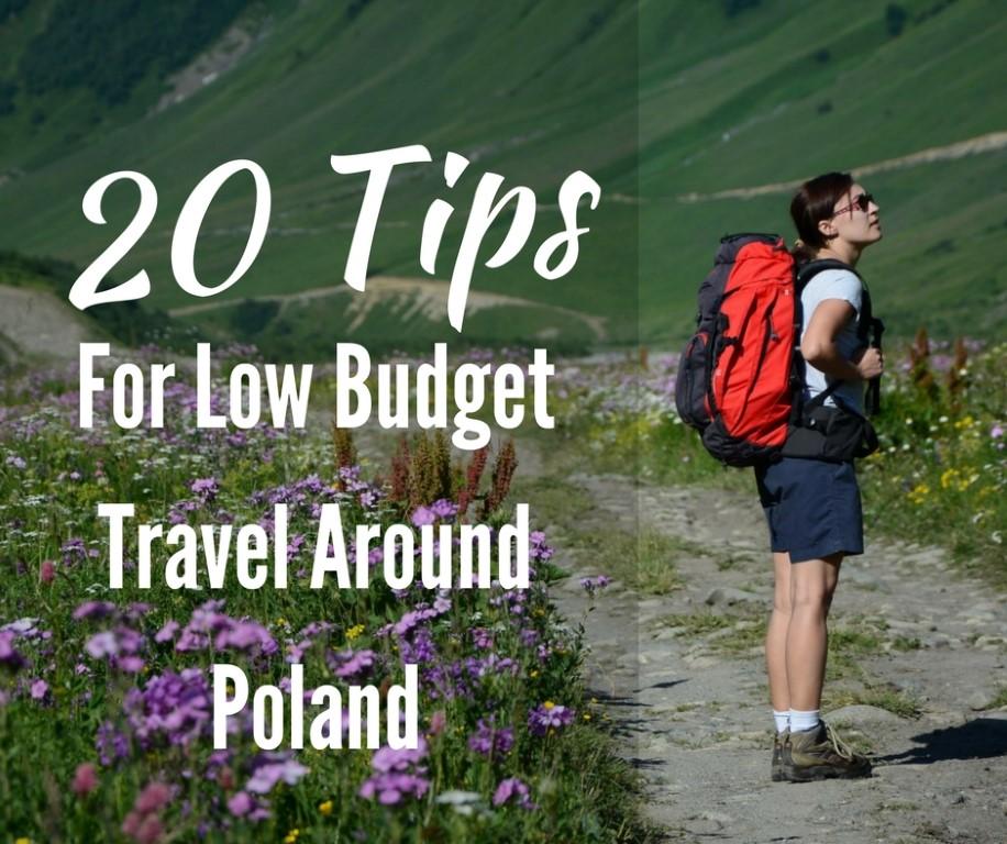 low budget travel around Poland