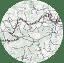 Bild: Routenplanung