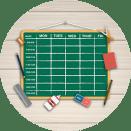 Bild: Stundenplanoptimierung für Schulen