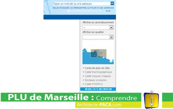 PLU Marseille reglementat