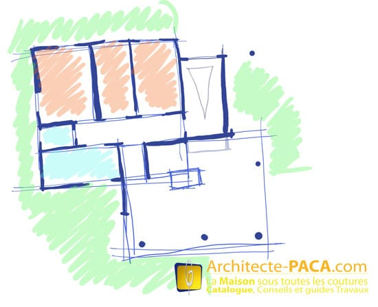 Cout d 39 un architecte pour plan de maison for Cout plan architecte