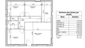 surface habitable définition pour une maison individuelle - Comment Calculer La Surface D Une Chambre