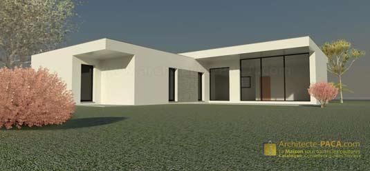 Plans De Villa : Exemples Et Fichiers | Architecte PACA.com