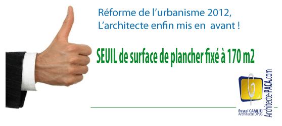 Seuil De Recours Obligatoire A Un Architecte De 170 A 150m2