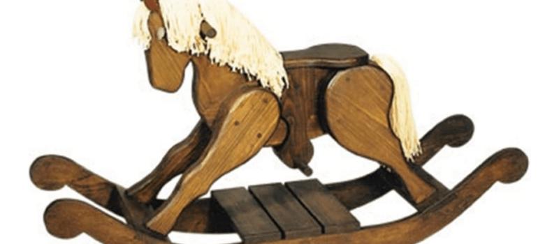 Toys plans Cherry tree rocker pony