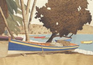 <img.source = 'pic.gif' alt = 'Boat on a Caribbean beach'/>