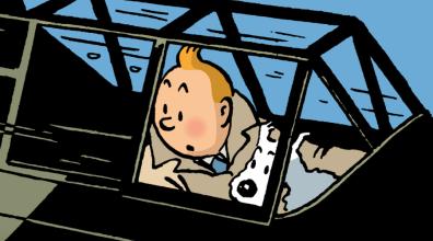OCTOBRE   Le dessinateur Hergé est honoré par le Mudac à Lausanne. Résultat bien en-deça des attentes. © Hergé-Moulinsart 2016. LIRE L'ARTICLE: https://planscultes.ch/2016/10/31/la-mesaventure-de-tintin/
