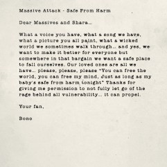 Mssive Attack - Safe From Harm. Source : U2.com