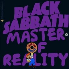 Black Sabbath - Master of Reality. Image Instagram @springfieldalbums