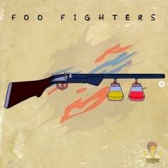 Foo Fighters - Foo Fighters. Image Instagram @springfieldalbums