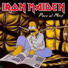 Iron Maiden - Piece of Mind. Image Instagram @springfieldalbums