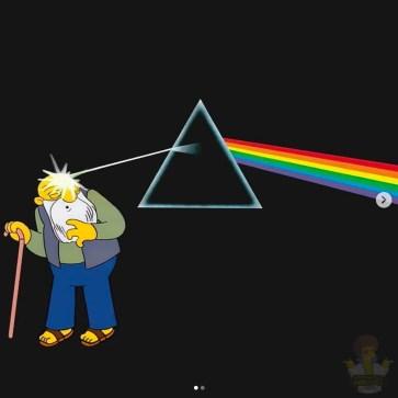 Pink Floyd - Dark Side of the Moon. Image Instagram @springfieldalbums