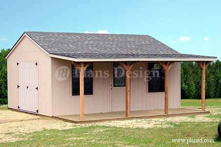 1620 Storage Building Plans DIY Blueprint Plans Download
