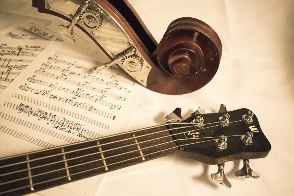 basse et guitare