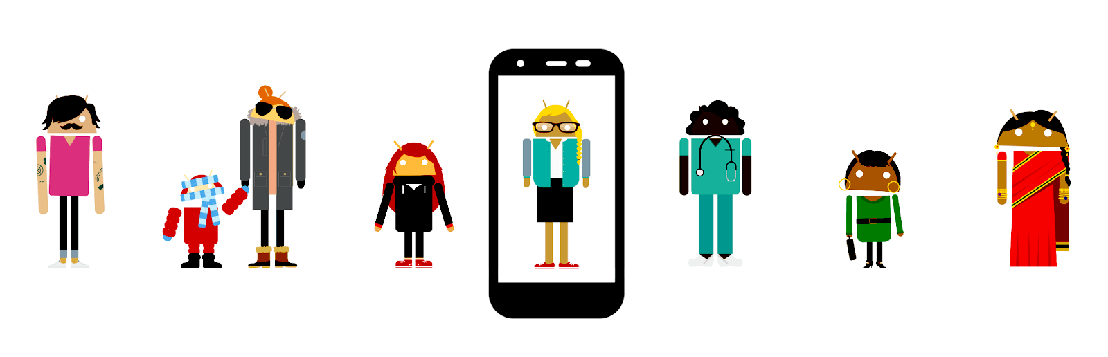 le marché androïd pour les podcasts