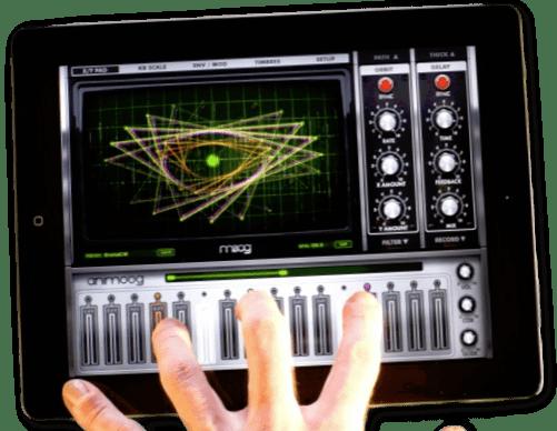 Animoog, le synthé pour iPad